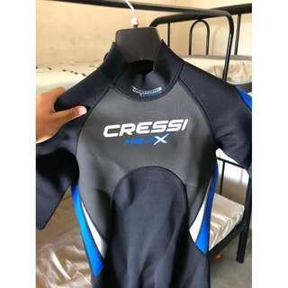Cressi Med X 2.5mm Diving suit / Wetsuit Shorty
