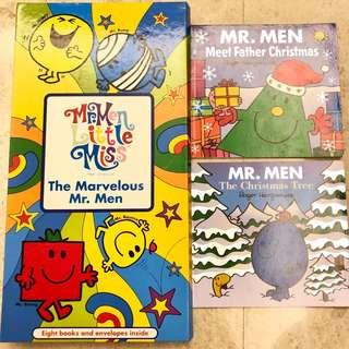 Mr Men. Little Miss The Marvelous Mr. Men + The Christmas Tree and Meet Father Christmas