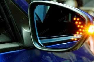 blue mirror with signal toyota vios keli ncp150 camry