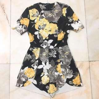Doublewoot Floral Romper