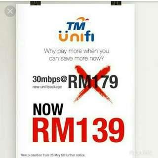 Unifi 30mbps [Free Transfer of Ownership] 1 yr contract remaining only.