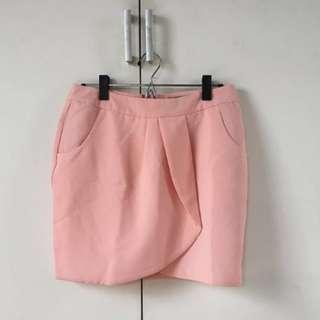 Seductions Pink Tulip Skirt