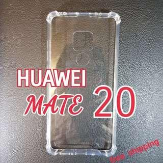 HUAWEI MATE 20 anti Shock Proof Transparent Hard Cover Case