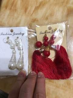 結婚中式西式耳環