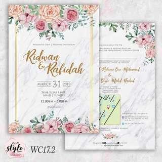 Wedding Card WC17.2