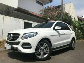 MERCEDES BENZ GLE 400 EXCLUSIVE LINE (CKD) 4MATIC 2016 REGISTER 2017