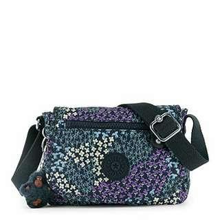 Kipling Sabian DottedBoquet crossbody sling bag