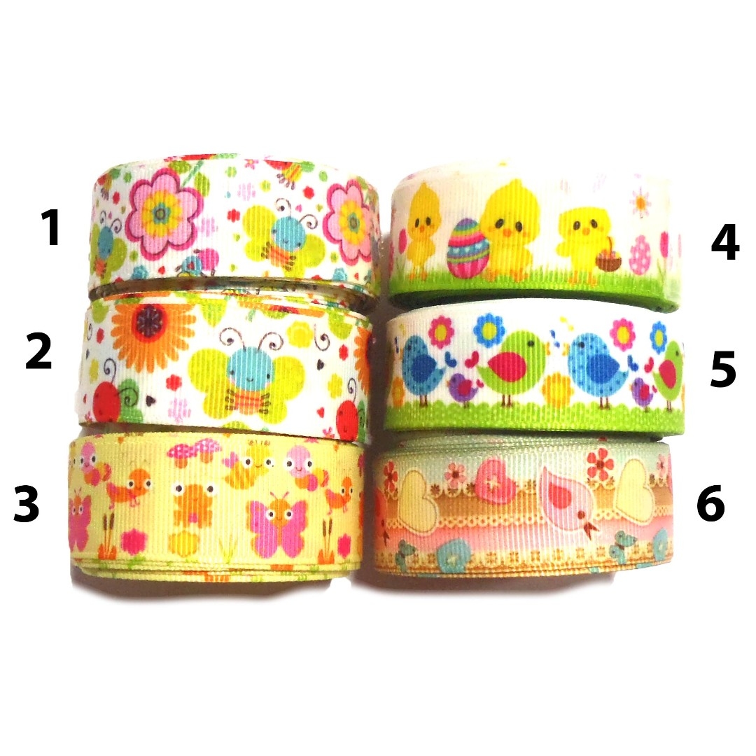22mm Grosgrain Butterfly Ribbon Sewing 1m Crafts