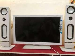 Polytron LED TV PLD24T810W White