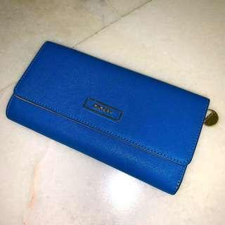 Authentic Royal Blue Wallet