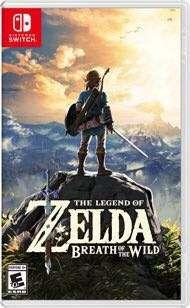 WTB Nintendo switch Zelda breath of the Wild
