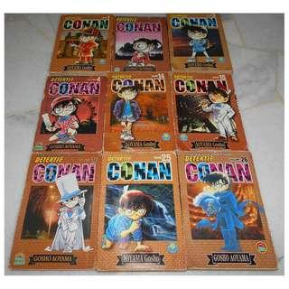 [DETECTIVE CONAN MANGA][READY STOCK] 3 MANGA FOR RM10 - PRICE NOT INCLUDE POSTAGE YET.