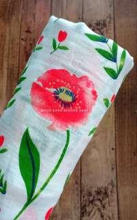 Baby Swaddle - cotton muslin