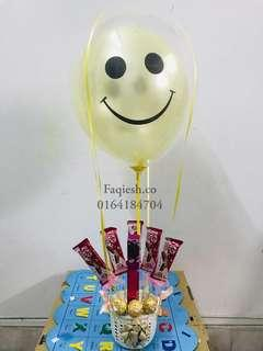 Balloon Chocolate Bouquet 05