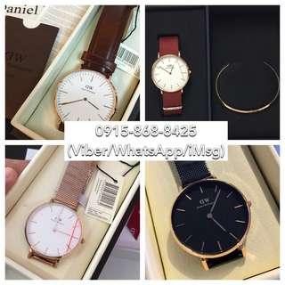 Daniel Wellington watches Melrose/St.Mawes/Ashfield/Petite