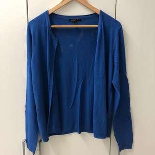 Mango Royal Blue Cardigan