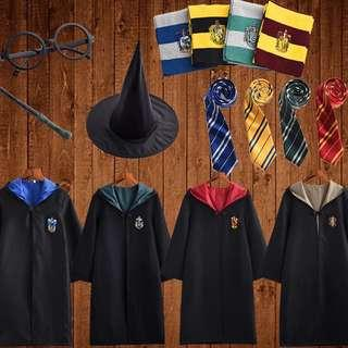 (FREE COURIER) Harry Potter Costume Cosplay Set
