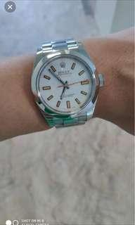 Rolex Milgauss White discontinued