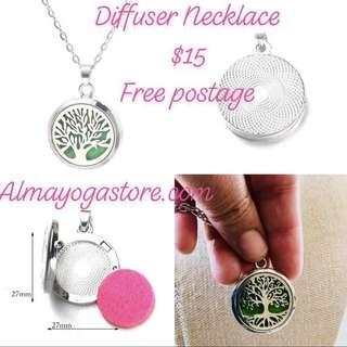 Aromatherapy Pendant Diffuser necklace