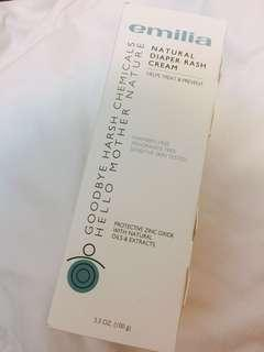 Emilia natural diaper rash cream
