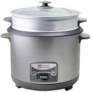 SALE ! SALE ! 3D RICE COOKER , 13 cups with steamer Brand new