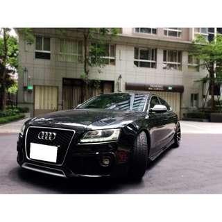 Audi  A5  Sportback TQ 2.0L '11  黑