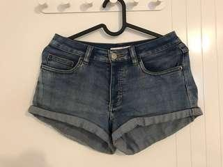 SUPRE Denim Shorts