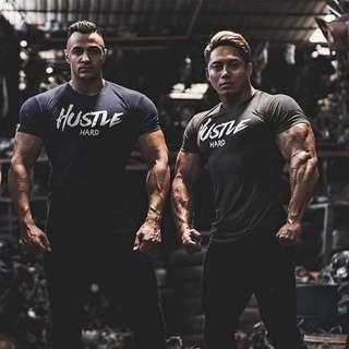 Hustle Hard Gym Tops