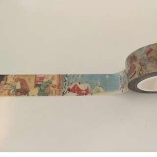 Christmas Nostalgic Moments AR044 Washi Tape 15mm x 10m