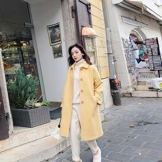 woman wool coat