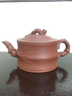 Chinese YiXing Teapot Bamboo Style #XMAS25