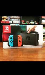 USED NINTENDO SWITCH CONSOLE W FIFA 19