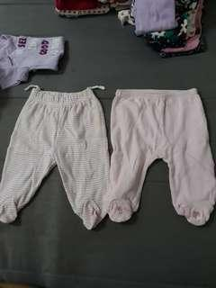 Baby Girl Covered Pants