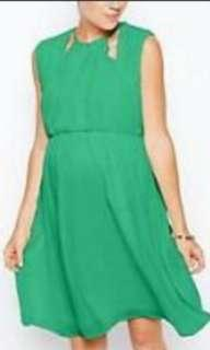 ASOS Green Maternity Dress
