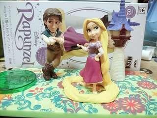 🚚 日版wcf Rapunzel 樂佩長髮公主