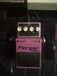 Boss BF-2 Flanger Made in Taiwan