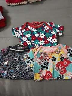 Colourful Baby Girl Romper Bundle Set