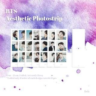 BTS Aesthetic Photostrip