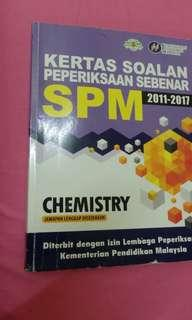 CHEMISTRY SPM PAST YEAR BOOK !!