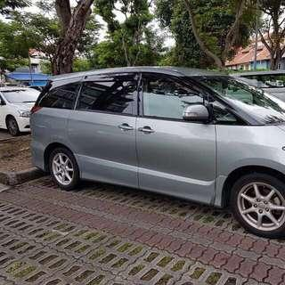Estima  7 and 8 seaters MPV Sedan New Year Package