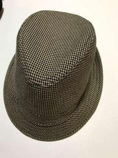 H&M男士千鳥紋帽子