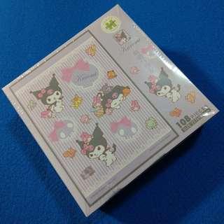 My Melody Kuromi jigsaw puzzle 108 piece 砌圖 拼圖