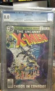 Marvel Comics vintage collectibles classics rare Key issue Hard to find comics graded Cgc 8.0