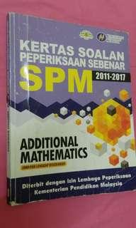 ADDMATH SPM PAST YEAR BOOK