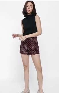🚚 Love Bonito black knit sleeveless top