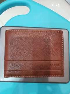Brand new fossil wallet