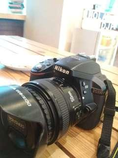 Kamera Nikon D5300 tahun 2017