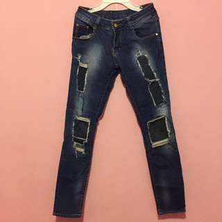 Skiny jeans