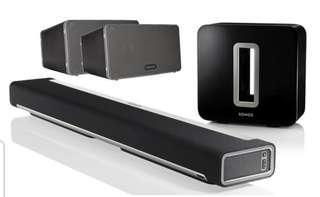 Home Audio System - SONOS Full Set Theatre