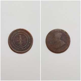 Old Coin. India 1916